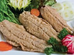 Baked herring in vinegar sauce